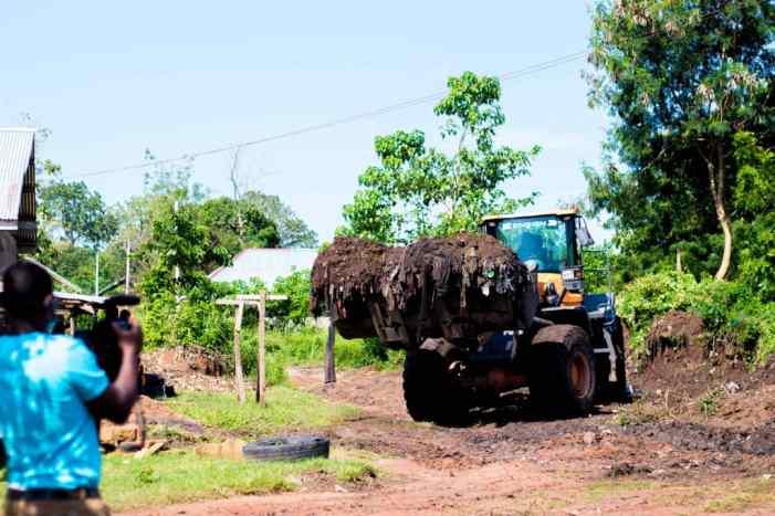 60-Year-Old Dumpsites Evacuated Ahafo Region