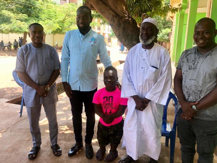 Afro-Arab Group Chairman Extends Visit To Sheikh Ibrahim Basha