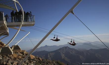 Arab Emirates Opens World's longest Zip Line