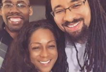 Woman Marries Two (2) Men and They Are Very Happy Together - PHOTOS