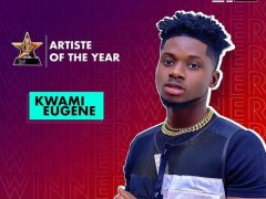 #VGMA: Kuame Eugene wins Artist of the Year over Sarkodie,Medikal and others
