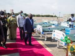 President Akufo-Addo Nana Hands Over 10,000 Hospital Beds To Health Ministry