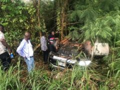 NPP Abronye DC escapes unscathed after near-fatal accident
