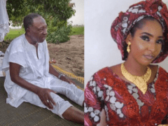 Nigerian Minister, 74 Old Man Marries 18yrs Old Girl