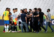 Brazil vs Argentina halted five minutes after kick-off over Covid issues