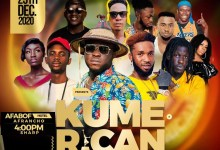Big December Party Coming On In Kumasi 'Kumerican X-Mas Invitation' on 25th Dec