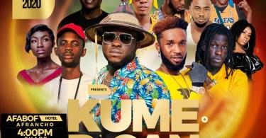 Big December Party Coming On In Kumasi 'Kumerican X-Mas Invitation' on 25th Dec