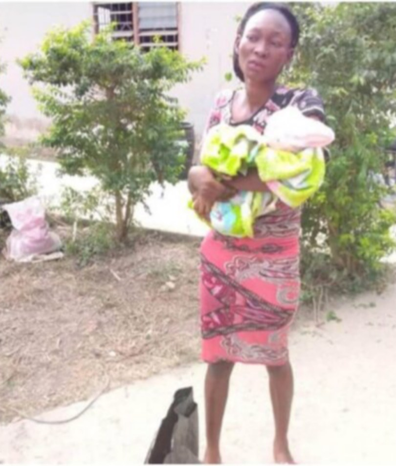 Lady Arrested For Selling Her Baby To A Pastor For N10,000 (Ghc153)