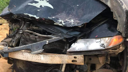 One Injured As A Fatal Accident Happened On Akyem-Tafo New Road