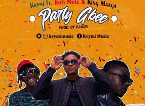 Krymi – Party Gbee Ft Kofi Mole & King Maaga (Prod. By Kaywa)