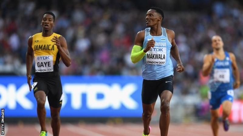 Wayde Van Niekerk wins silver in 200m, Makwala finishes 6th