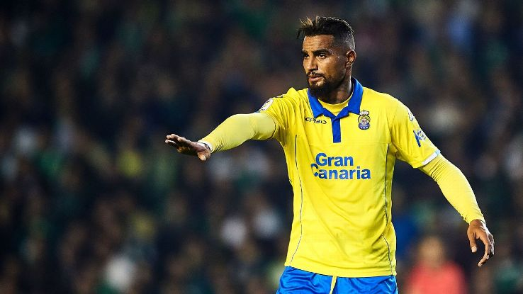 Kevin-Prince Boateng signs for Eintracht