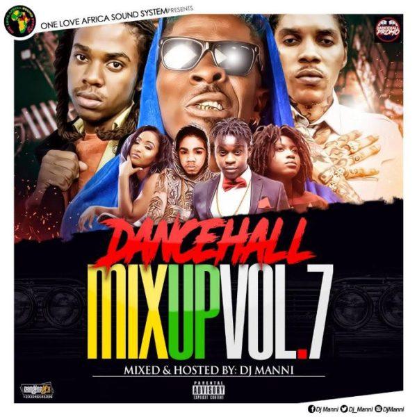 Dj Manni - Dancehall Mix Up Vol 7 - GhanaNdwom net