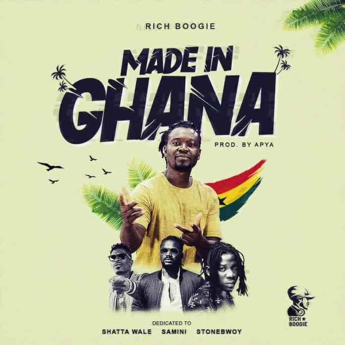 Rich Boogie - Made In Ghana (Samini, Shatta Wale & Stonebwoy Tribute) 1