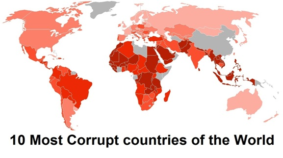 2020 Best Countries ranking: Here are the 10 Most Perceived Corrupt Countries