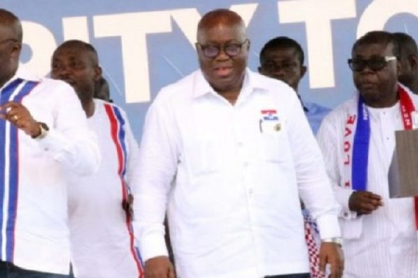 NPP Flagbearership: Akufo-Addo picks forms