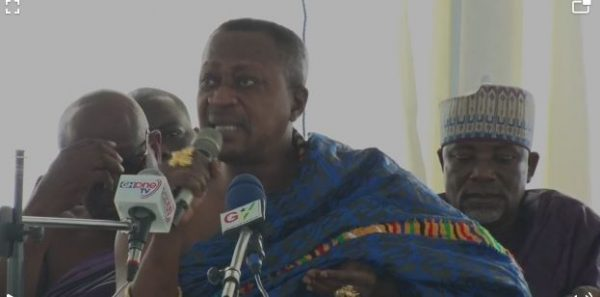 Enough of the ideas; let's see action – Bantamahene to Govt