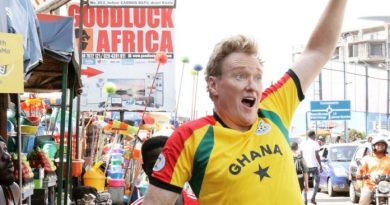 Ghana's 'shito' is the best in the world – American comedian Conan O'Brien