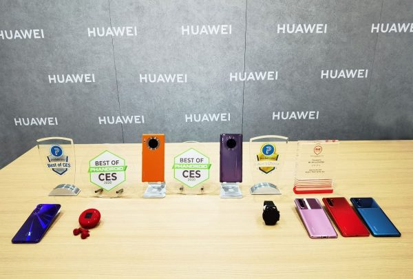 "Huawei FreeBuds 3, Huawei Watch Gt 2 Won ""Best of CES2020"" and ""Editor's Choice"" Awards"