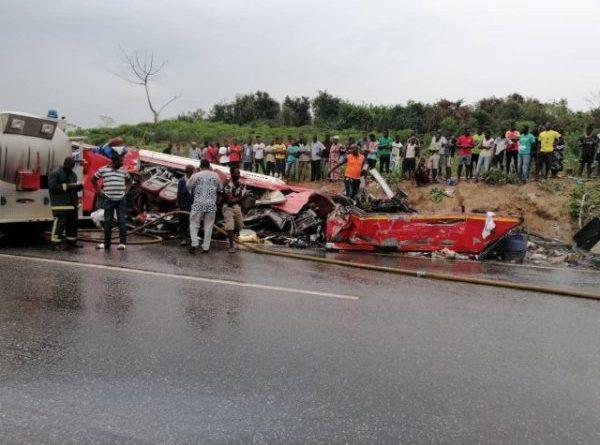 34 die in Ghana road crash