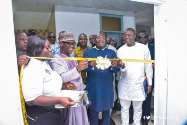 Bawumia launches NPA's digital product tracking command centre
