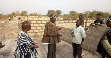 S/R: Regional Minister Visits Project Sites In Daboya