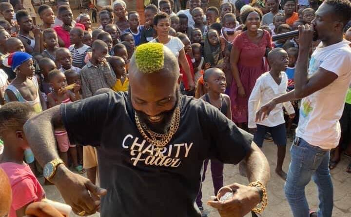 Ghanaian celebrity barber Kwesi Brown who resides in Australia brought hope and restoration to kids and the less privileged in his native community Dwenho in Agona Swedru