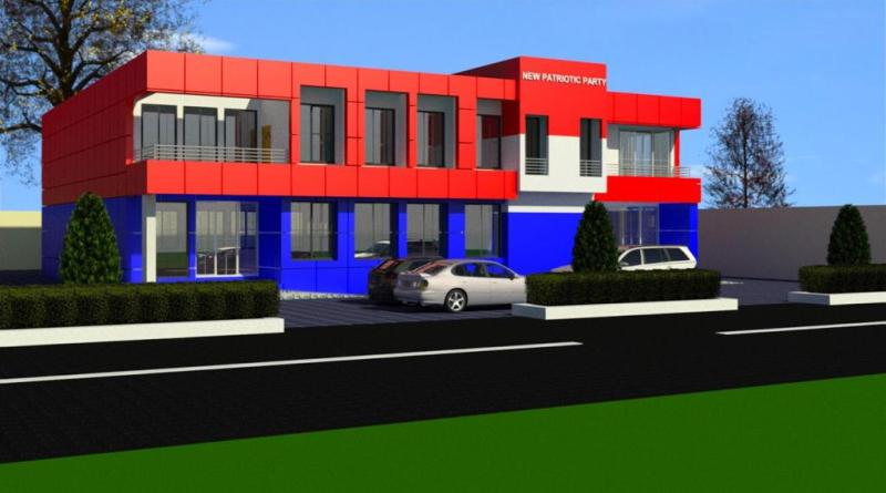 New Abirem: Ultramodern Office Complex for NPP