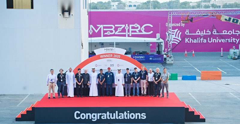 Czech Technical-UPenn-NYU Team Wins Grand Challenge in US$5-Million MBZIRC2020 organized by Khalifa University