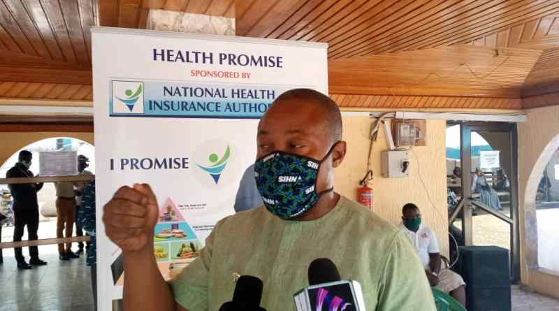 Bernard Nii Anyaa Brown Tours District Health Insurance Offices