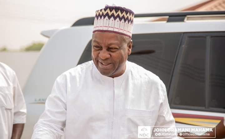 Muslims express gratitude to John Mahama for Ramadan items