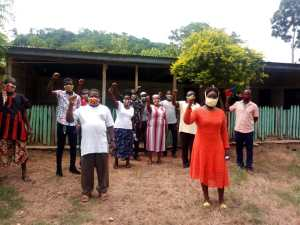 Mavis Ama Frimpong Making Strides with Her 'Community Action Against Covid-19' Project