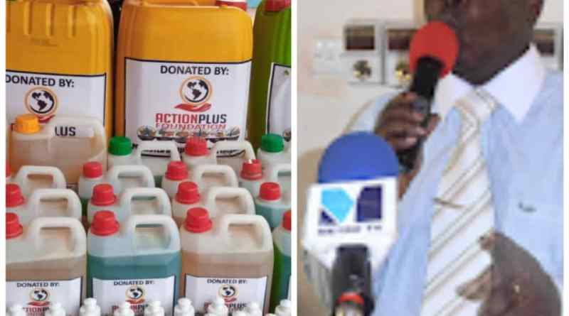 Covid-19: ActionPlus Foundation donates to PLWHIV in Ashiaman