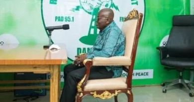 This is why Akufo-Addo carries his Chair everywhere he goes