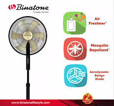 Binatone Introduces New Series of Standing Fans with Mosquito Repellent