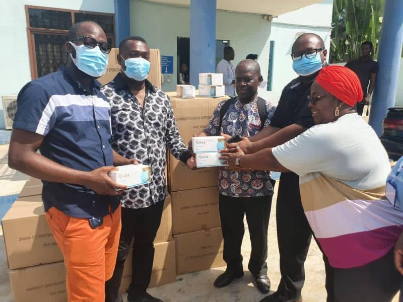 IPR distributes GHC100,000 worth of face masks to help prevent spread of Covid-19 during elections