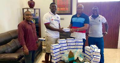 MoE PRO donates to NPP Adentan Constituency