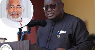President Akufo-Addo's Tribute to former president Jerry John Rawlings