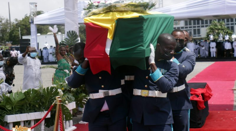 Ghana's Jerry John Rawlings buried
