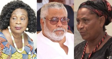 JJ Rawlings never denied or confirmed having a secret daughter when Abigail came to us in 2002 – Family members give full details on