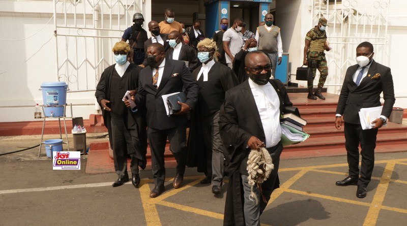 Lawyers of Second Respondent went home with nothing after marathon Cross Examination