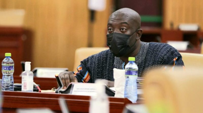 Oppong Nkrumah proposes a law against the advocacy of LGBT activities