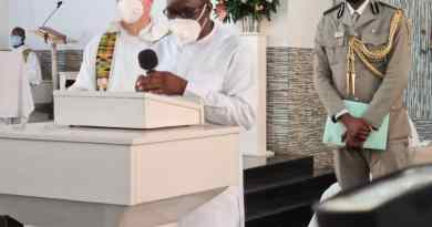 Speaker Alban Bagbin Ask for Wisdom as he thanks God in Church