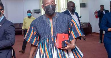 Kojo Oppong Nkrumah vetted by Parliament