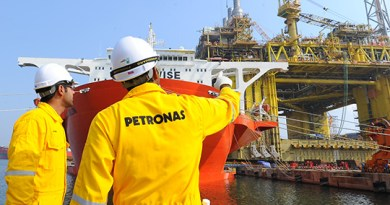 Petronas workers stranded offshore after Myanmar coup