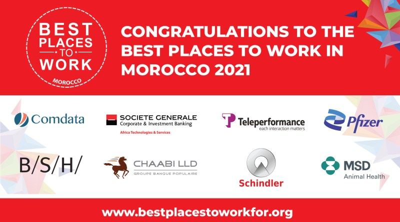 8 Companies Earned the Best Places To Work Certification in Morocco for 2021