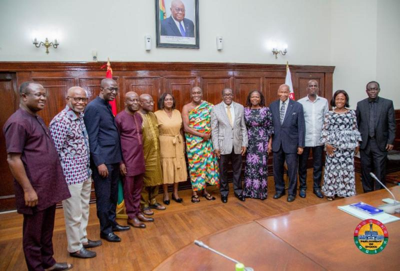 Council of State pledges collaboration with Parliament for Ghana's Development