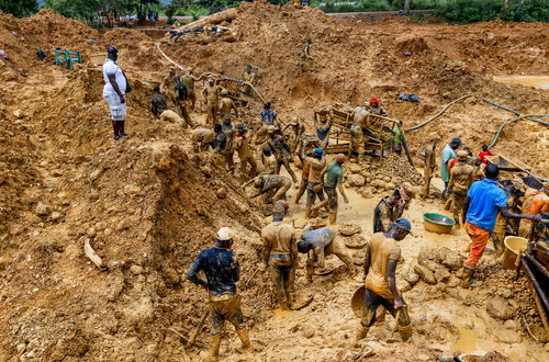 Angry Chief hauls Obuasi Assembly, Minerals Commission and EPA to Court over Galamsey activities
