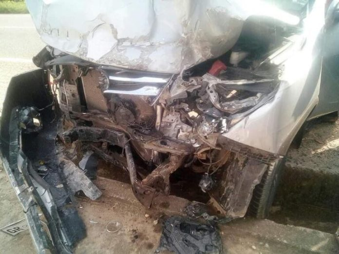 Three PRESEC students CRASHED to DEATH