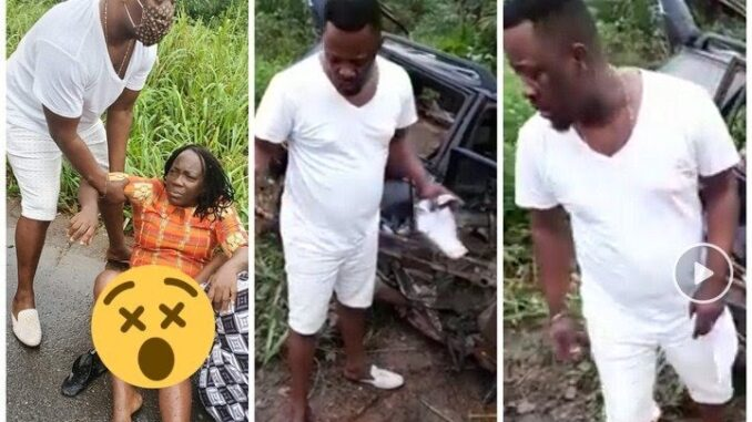 PHOTOS: Nigel Gaisie involved in accident